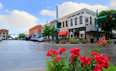 Trinity Falls town